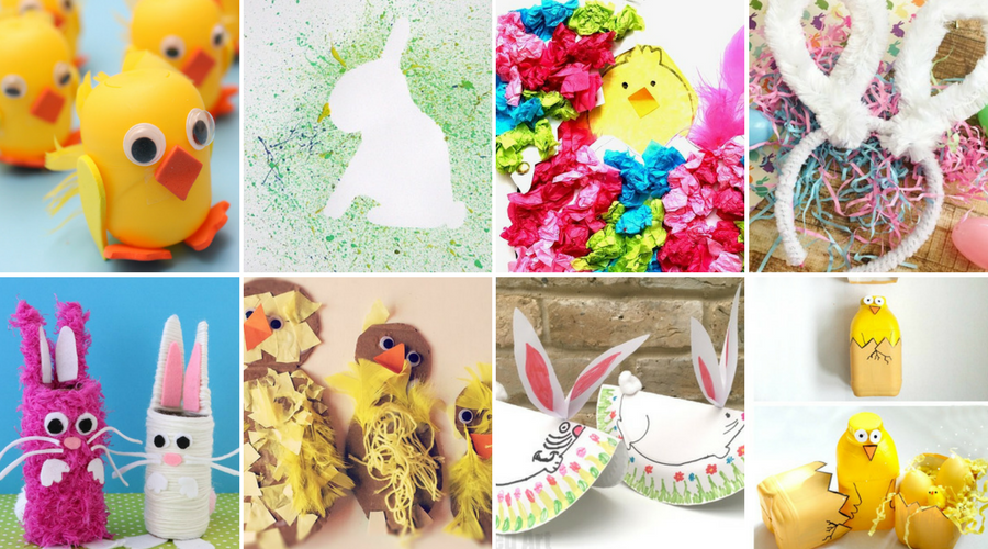 TheInsipredHome.org // Easter Crafts For Kids