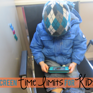 Screen Time Limits for Kids {Giveaway}