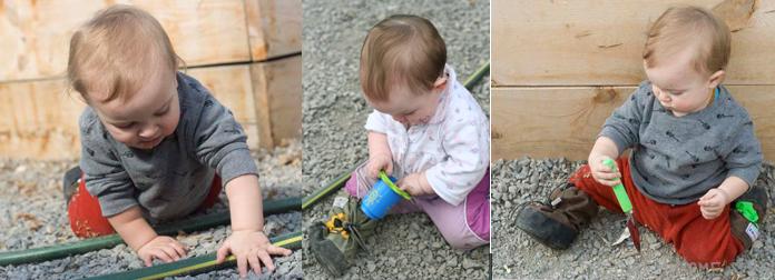 Simple Earth Day Playdate Babies Exploring