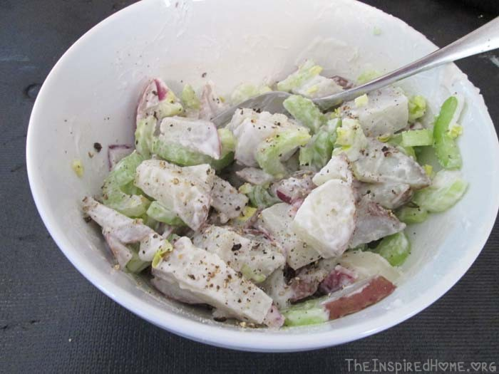 Homemade Potato Salad Gluten-Free Egg-Free