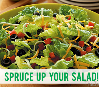 Spruce Up Your Salads!
