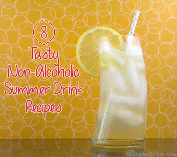 Tasty Non Alcoholic Summer Drink Recipes Roundup Bubblesmyway