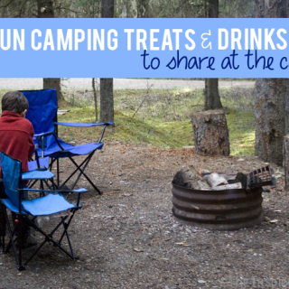 Get Outdoors: Simple Camping Treats & Drinks #BubblesMyWay