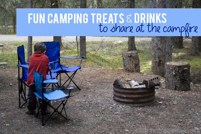 TheInspiredHome.org // Fun Camping Treats to share around the campfire #bubblesmyway
