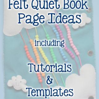 9 Quiet Book Page Ideas