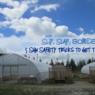 Slip, Slap, Scream? 5 Sun Safety Tricks to Get to Slop