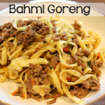 TheInspiredHome.org // Bahmi Goreng (aka Bami Goreng) Recipe - A traditional Dutch dish of Indonesian Cuisine