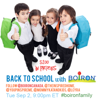 Staying healthy through Back To School #boironfamily on Sep 2, 7pm MT