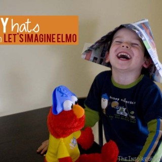 DIY Hats with #ImagineWithElmo {Giveaway}