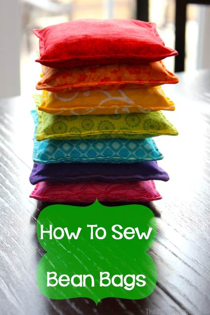 TheInspiredHome.org // How to Sew Your Own Bean Bags {Tutorial}. A great project for beginners, making bean bags is quite simple and kids of all ages will love them!
