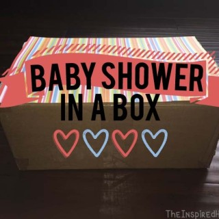 DIY Baby Shower in a Box