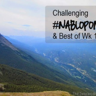 Challenging  #NaBloPoMo & The Best of Week 1