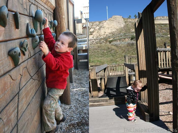 Road Trips without Electronics Medora Playground