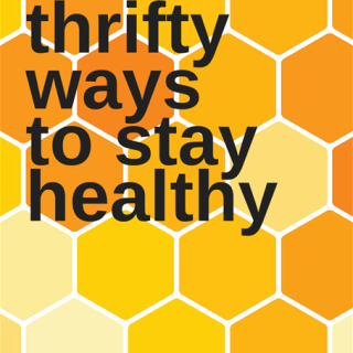 4 Thrifty Ways to Stay Healthy + FREE Printable