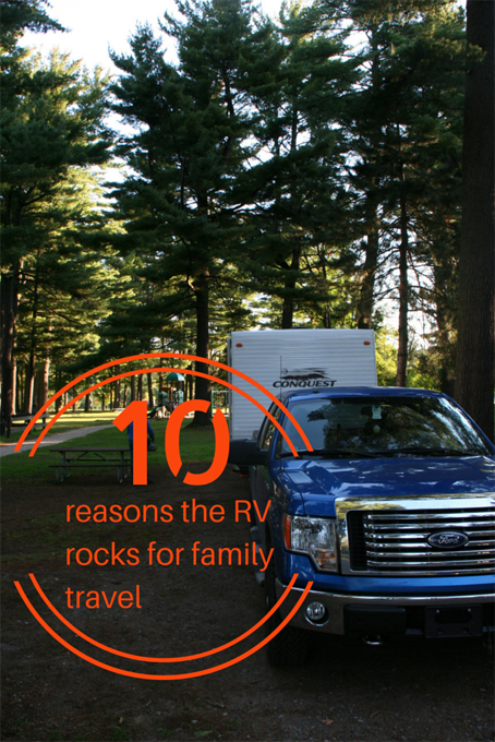 TheInspiredHome.org // Wondering if an RV is for you? After 1 year and a giant road trip of over 9,000 - here's our top 10 reasons why the RV rocks for family travel.