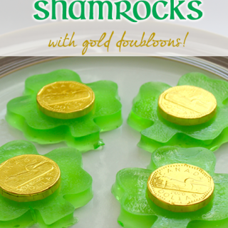 Jiggly Jello Shamrocks