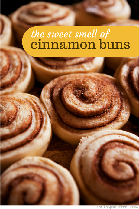 TheInspiredHome.org // the sweet smell of cinnamon buns and smells of home. #AirWickHome