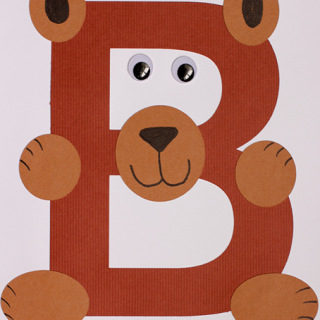 Alphabet Craft – B is for Bear