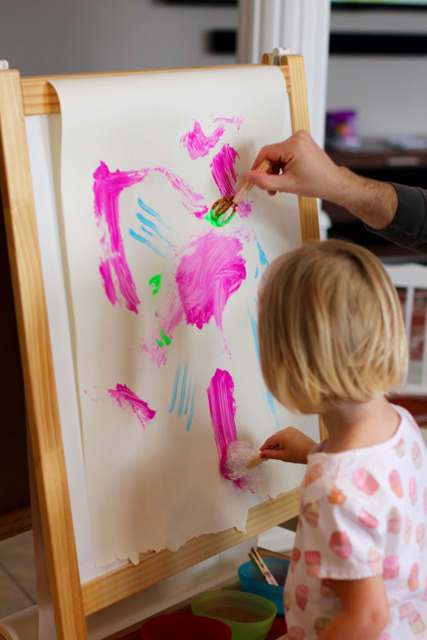 TheInspiredHome.org // DIY Paintbrush Ideas for Kids
