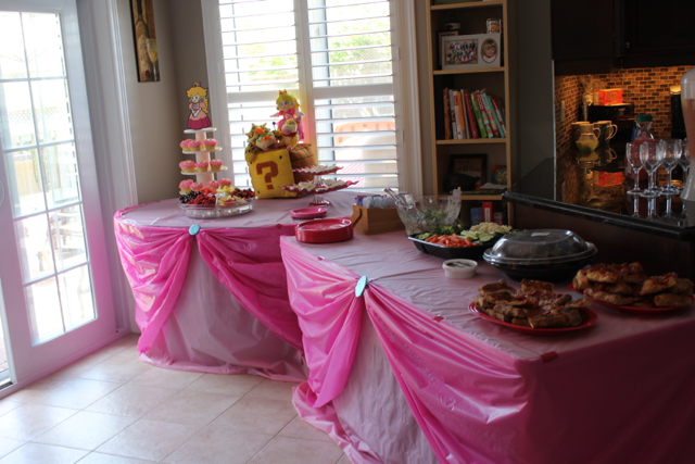 Princess Peach Table Design