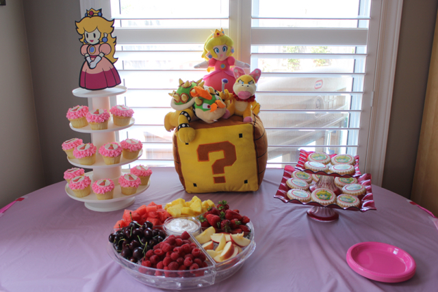 Princess Peach Birthday Party O The Inspired Home