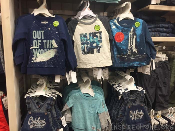 Durable Clothes for Adventurous Kids Space Tees