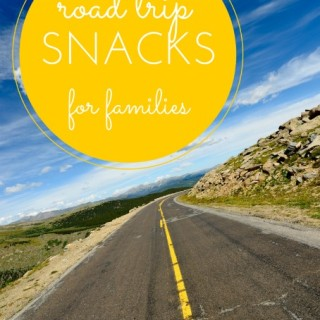 Roadtrip Snacks for Families