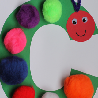 Alphabet Craft – C is for Caterpillar