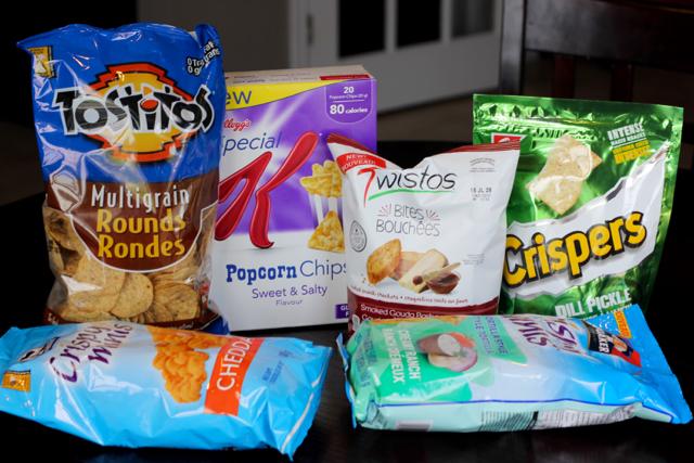 TheInspiredHome.org // Road Trip Snacks - Salty Snacks
