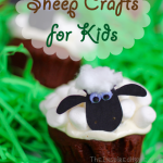 TheInspiredHome.org // Create these Shaun the Sheep cupcakes along with other sheep craft ideas for toddlers.