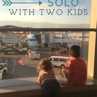 Flying Solo with Kids