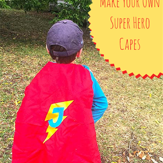Make Your Own Super Hero Cape
