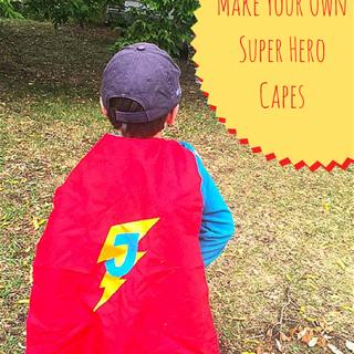 Make Your Own Super Hero Cape