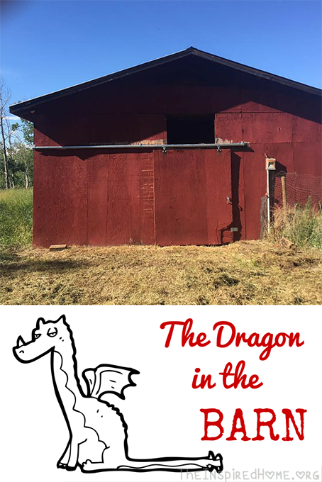 The Dragonin the Barn