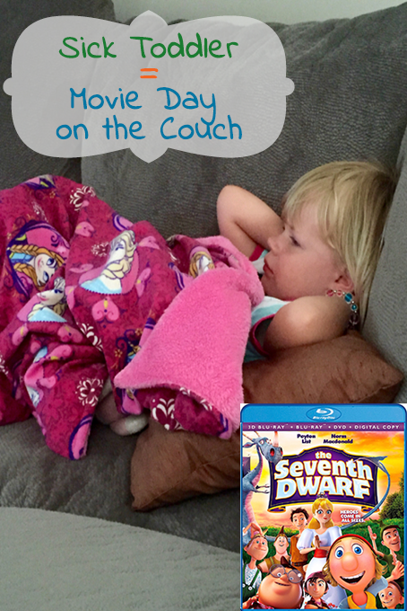 TheInspiredHome.org // Sick toddler? The perfect way to spend the day is watching the new family film The Seventh Dwarf. Enter the giveaway to win your very own copy!