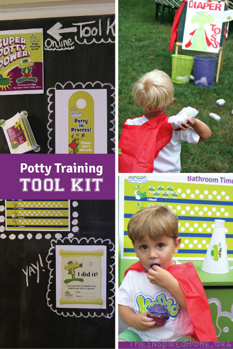 TheInspiredHome.org // Dive Into the Potty Training Process with @KandooKids!
