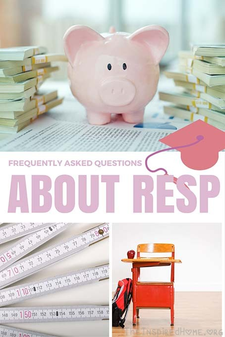 TheInspiredHome.org // Considering opening an RESP? Questions on what happens if the child doesn't go to school? Check out our Frequently Asked Questions about RESP