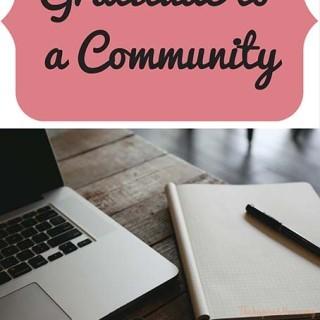 Gratitude to a Community