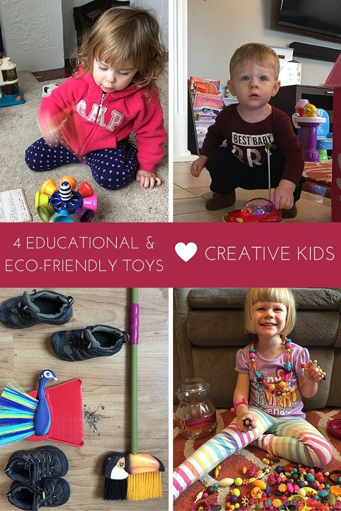 4 Eco-Friendly, Educational Toys for Creative Kids • The ...