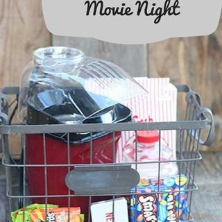 Family Gift: Movie Night In
