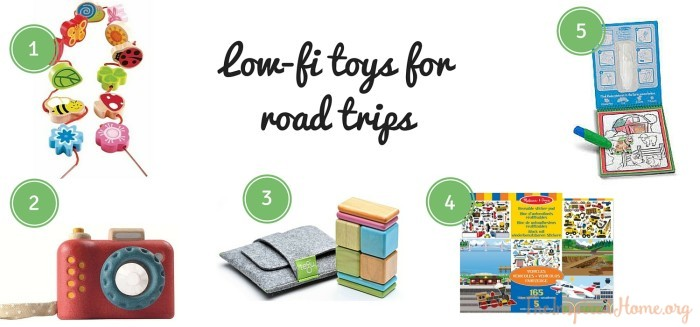 TheInspiredHome.org // Low-Fi Toys for Road Trips