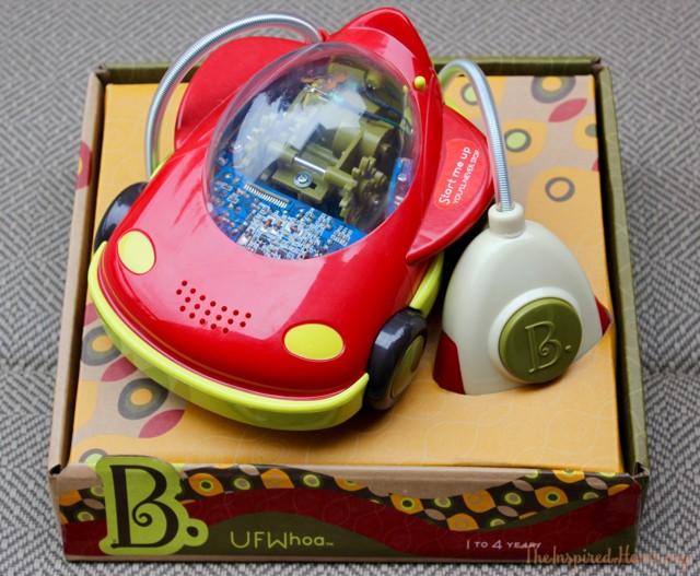 B. Toys Wheeee-Mote Control Newbies: UFWhoa Car