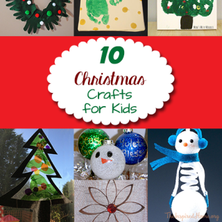 10 Christmas Decor Crafts for Kids