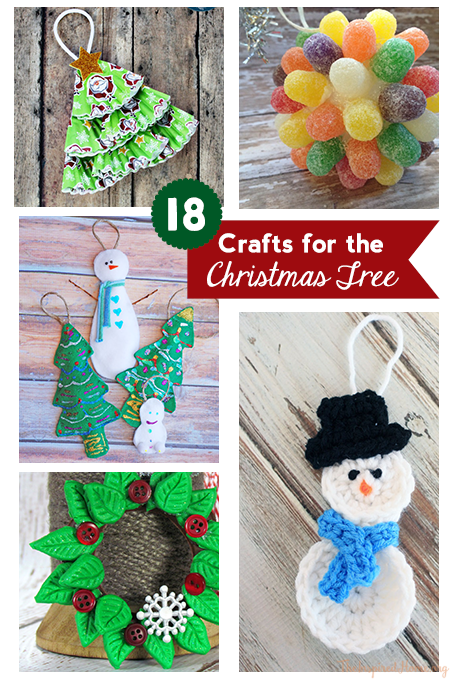 crafts for xmas tree