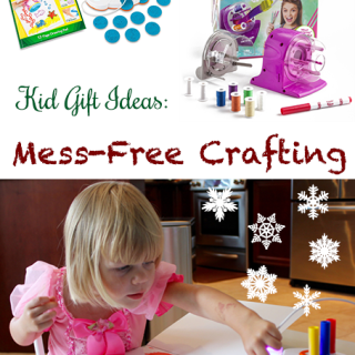 Gift Ideas for Kids: Mess-Free Crafting