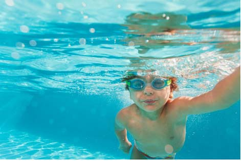 Educational Experience Gifts That Will Keep on Giving the Whole Year Through: Swimming at the Rec Center