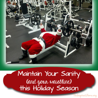 Maintain Your Sanity (and Waistline) This Holiday Season