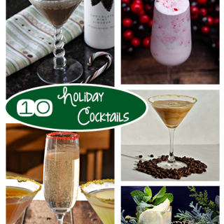 10 Delicious Holiday Cocktails {Roundup}