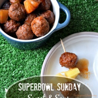 Easy Slow Cooker Sweet & Sour Meatballs