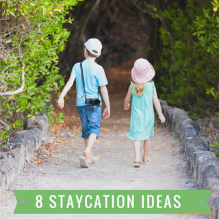 8 Staycation Ideas For Your Spring Break {Giveaway}